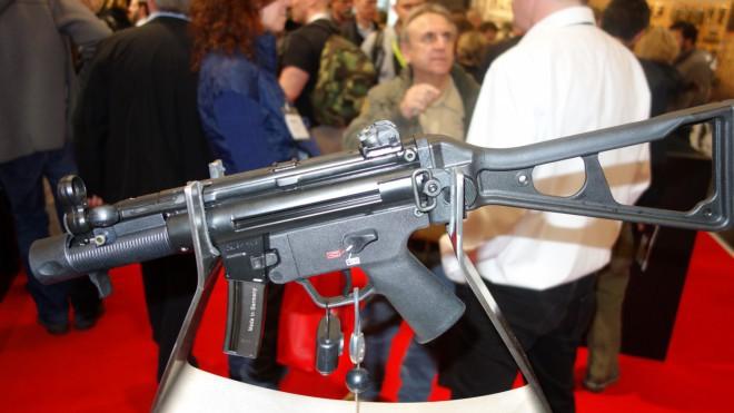 Полуавтоматическая версия пистолета-пулемета SP5K thefirearmblog.com - Heckler & Koch «на гражданке» | Военно-исторический портал Warspot.ru