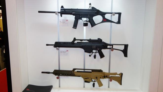 USC (сверху) и HK243 в двух модификациях thefirearmblog.com - Heckler & Koch «на гражданке» | Военно-исторический портал Warspot.ru