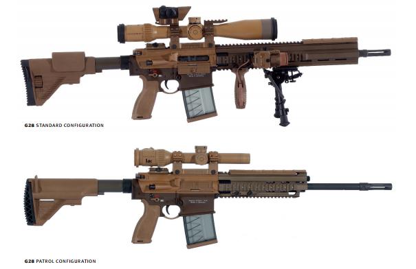 «Стандартная» и «патрульная» версии винтовки G28 heckler-koch.com - Американская армия перевооружает снайперов | Военно-исторический портал Warspot.ru