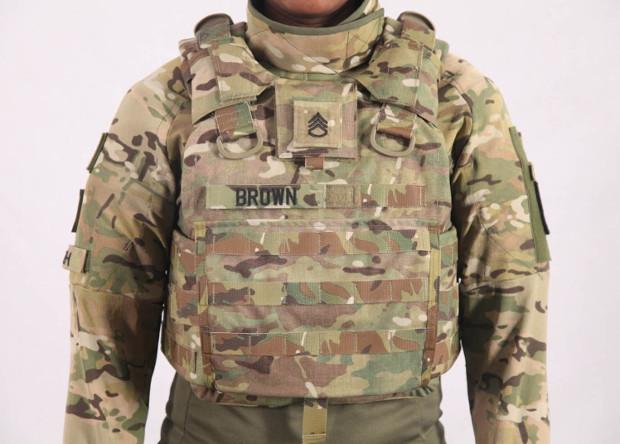 Новый бронежилет с пластиковой броней military.com - Американская армия оденется в пластиковую броню | Военно-исторический портал Warspot.ru