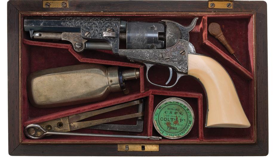 Револьвер Бригама Янга rockislandauction.com - Револьвер мормонского лидера XIX века уйдёт с молотка | Военно-исторический портал Warspot.ru