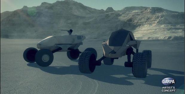 Компьютерная модель перспективной машины GXV-T darpa.mil - Как выглядит военный вездеход будущего | Военно-исторический портал Warspot.ru