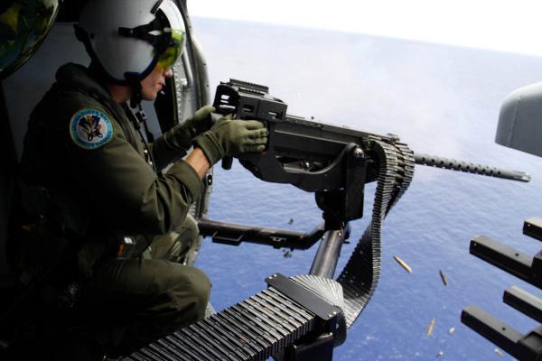 M2 Browning в качестве штатного вооружения вертолета scout.com - Американская армия получит титановые пулемёты | Военно-исторический портал Warspot.ru
