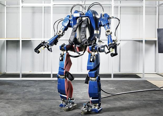 Прототип нового экзоскелета от Hyundai Motor Group blog.hyundai.co.kr - Корейцы разработали«костюм Железного человека» | Военно-исторический портал Warspot.ru