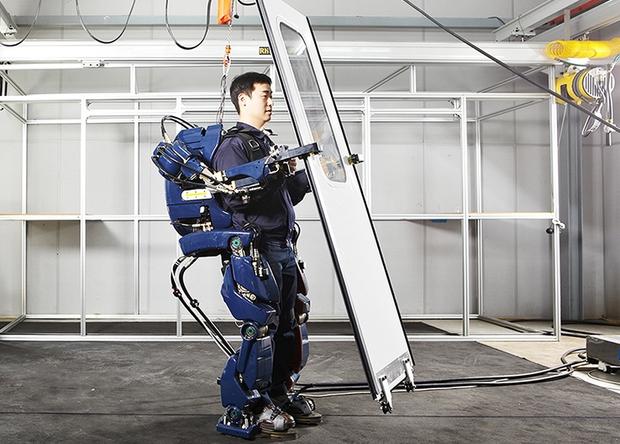 Экзоскелет от Hyundai Motor Group blog.hyundai.co.kr - Корейцы разработали«костюм Железного человека» | Военно-исторический портал Warspot.ru