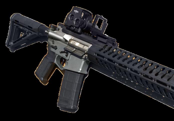 Аксессуар TARAC Alpha на винтовке AR-15 tacomhq.com - Американский «перископ» для оружейного прицела | Военно-исторический портал Warspot.ru