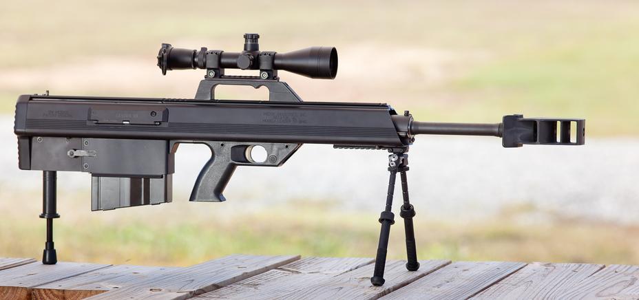 Прототип винтовки Leader 50 образца 2012 года stgeorgearms.com - Leader 50 A1: лёгкость крупного калибра | Военно-исторический портал Warspot.ru