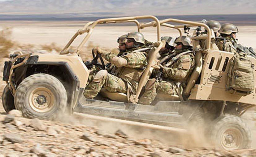 Сверхлегкий военный внедорожник Polaris MRZR 4 ndtv.com - Когда багги опаснее танка | Военно-исторический портал Warspot.ru
