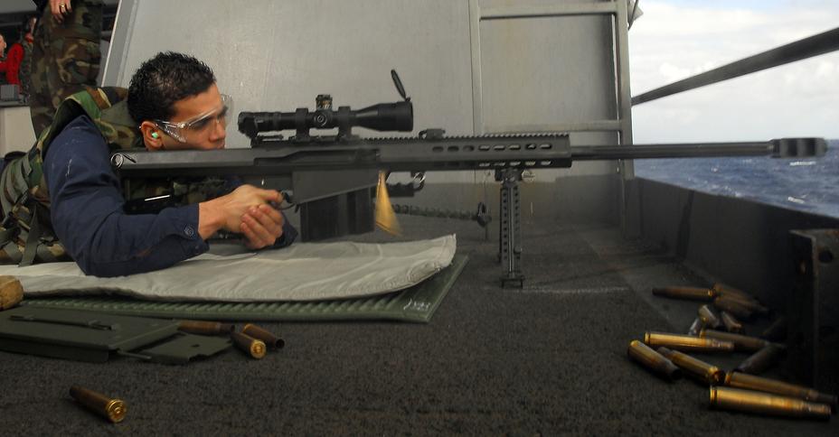 Тренировочная стрельба из винтовки Barrett M107 - Охотники на танки | Военно-исторический портал Warspot.ru