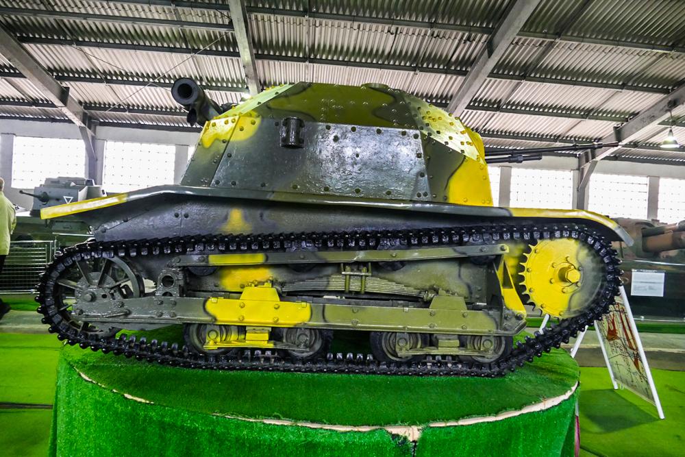Трофей на миллион. Польская танкетка TK-S в Кубинке.