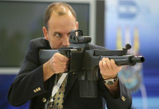 iNkunzi PAW – ручной гранатомет калибра 20 мм thefirearmblog.com - iNkunzi Strike – смесь пулемёта с гранатомётом | Военно-исторический портал Warspot.ru