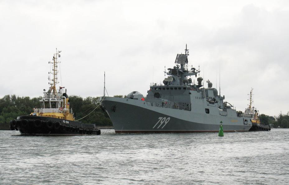 Фрегат Адмирал Макаров отправлен на испытания