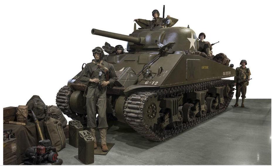 Танк M4 Sherman можно приобрести за €250 000–400 000 artcurial.com - Французский танковый музей распродаёт свою коллекцию | Военно-исторический портал Warspot.ru