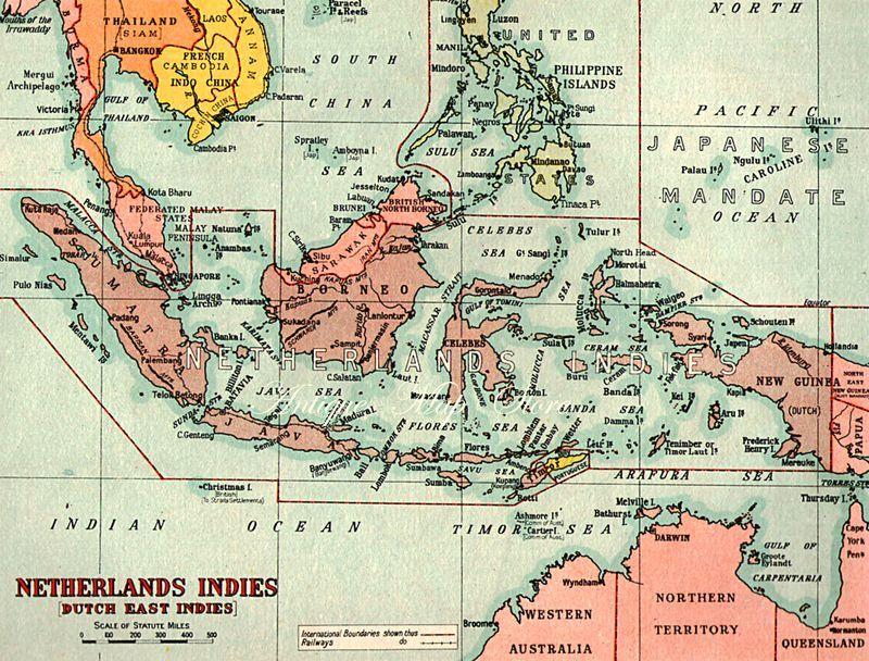 Нидерландская Индия в 1940 году - Рождение Индонезии: голландцы возвращаются | Военно-исторический портал Warspot.ru