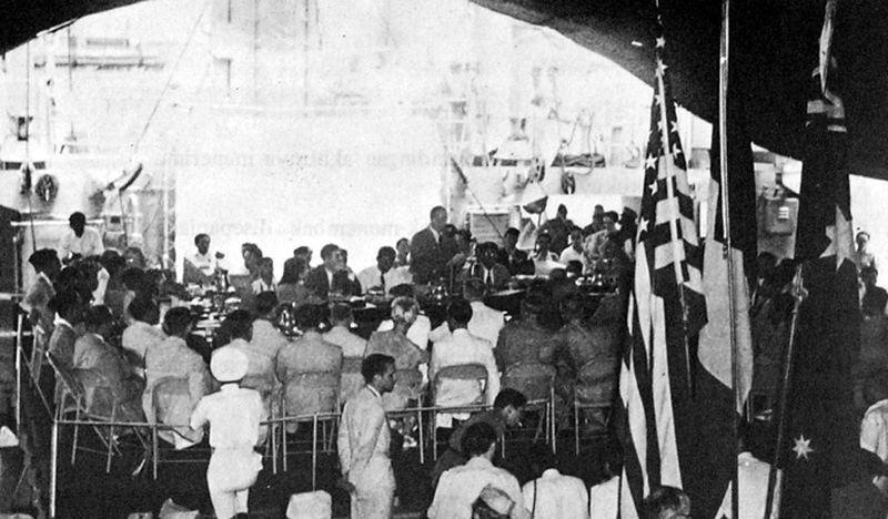Переговоры на борту «Ренвилла» - Рождение Индонезии: голландцы возвращаются | Военно-исторический портал Warspot.ru