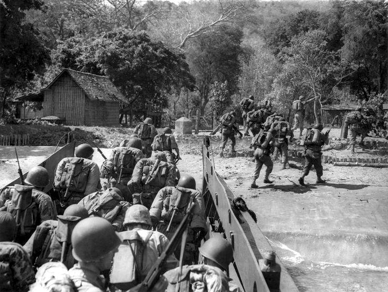 Десант голландских морских пехотинцев на Яве, 1947 год - Рождение Индонезии: голландцы возвращаются | Военно-исторический портал Warspot.ru