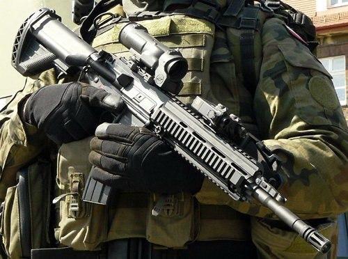 Винтовка Heckler & Koch 416 pinterest.com - Французская армия откажетсяот автоматов «булл-пап» | Военно-исторический портал Warspot.ru