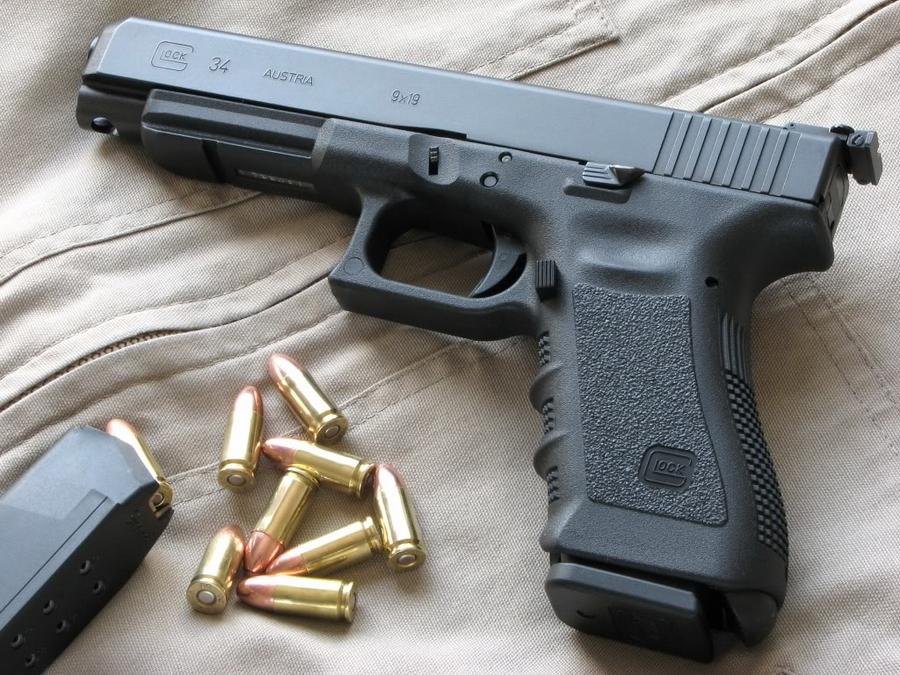 Glock 34 — спортивная модель под патрон 9×19 мм Парабеллум - «Глок» – простой, как лопата | Военно-исторический портал Warspot.ru
