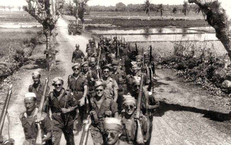 ������� ���� ������ �������� (Regiment Stoottroepen Prins Bernhard) ����� ����������� �� ������� ���, 1948 ��� - �������� ���������: ������ ��� �������������� | ������-������������ ������ Warspot.ru