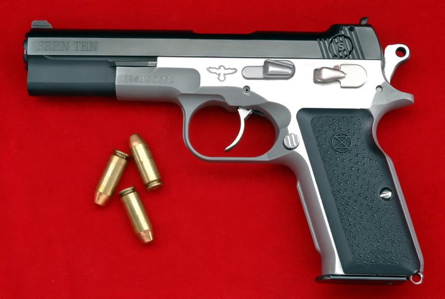 Американский пистолет Bren Ten под патрон 10mm Auto разработан на основе CZ 75 - Очень серьезный «Чиж» | Военно-исторический портал Warspot.ru