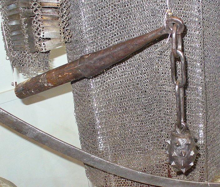 Холодное оружие в виде ударного груза, соединённого подвесом (цепью, ремнём, веревкой) с рукоятью, называется кистень - Правильные ответы: холодное оружие | Военно-исторический портал Warspot.ru