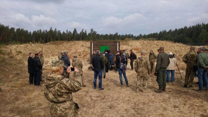 На полигоне военной части А2192 во время испытаний новых патронов defence-blog.com - Броня не устоит | Военно-исторический портал Warspot.ru