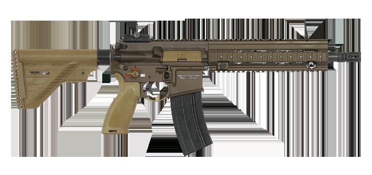 Автоматическая винтовка HK416 heckler-koch.com - Французы вооружатся «немцами» | Военно-исторический портал Warspot.ru