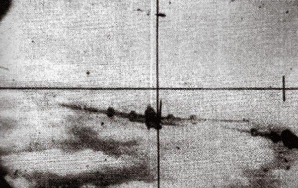 В прицеле В-29. Из коллекции Диего Зампини http://www.airspacemag.com/ - «МиГ» и «Сейбр»: захватить и изучить | Военно-исторический портал Warspot.ru