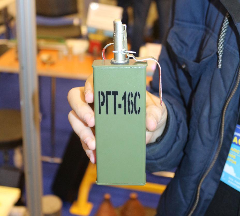 Ручная граната РГТ-16С defence-ua.com - Украинская компания создала новую термобарическую гранату | Военно-исторический портал Warspot.ru