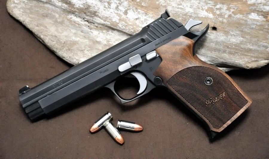 Один из представителей семейства пистолетов P210 Legend, произведённый в Германии - Швейцарская легенда | Военно-исторический портал Warspot.ru
