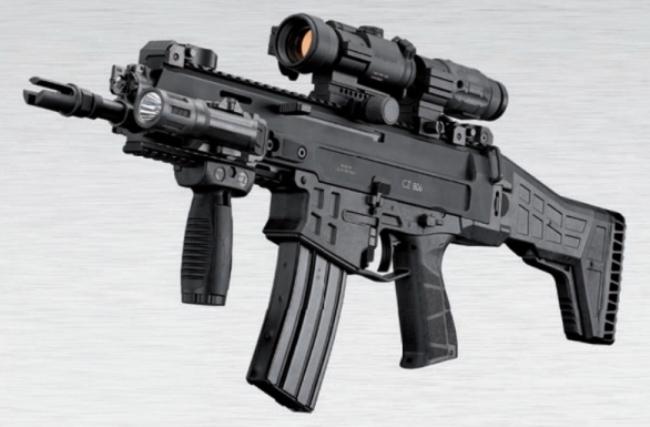 Карабин CZ 806 Bren 2 A2 thefirearmblog.com - Чехия вооружается новыми автоматами | Военно-исторический портал Warspot.ru