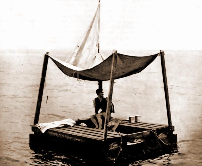он выжил на лодке история человека