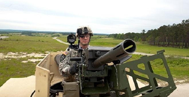 Пулемет Browning M2 и его оператор с системой FWS-CS baesystems.com - Американские пулеметчики станут «снайперами» | Военно-исторический портал Warspot.ru