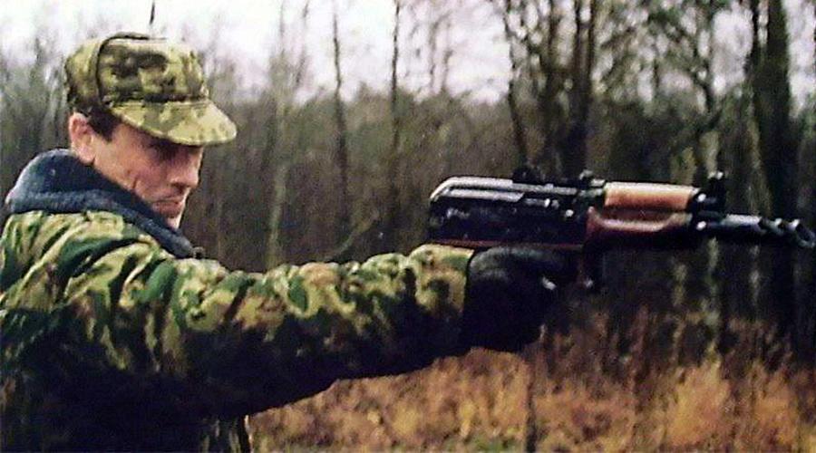 Благодаря хорошему балансу, «Гепард» позволял вести прицельную стрельбу с одной руки - Неудавшийся прыжок «Гепарда» | Военно-исторический портал Warspot.ru