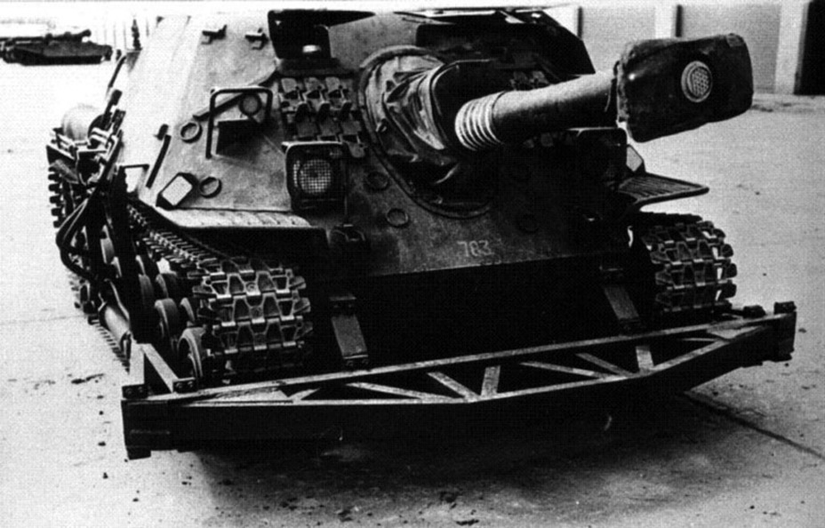 ?САУ Ikv 103, переоборудованная для исследования работы регулируемой подвески - Удивительный танк Strv 103 | Военно-исторический портал Warspot.ru