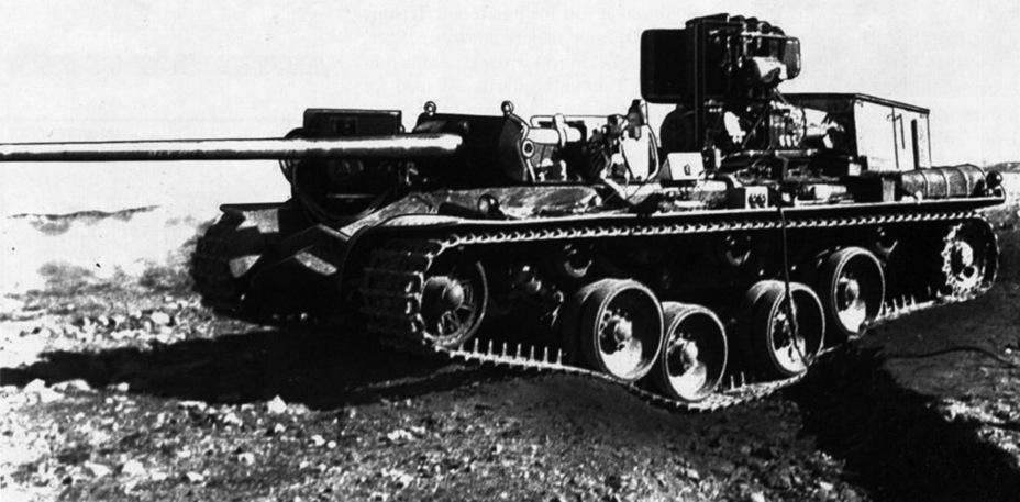 ?Переоборудованный KRV, на котором испытывалась новая система подвески - Удивительный танк Strv 103 | Военно-исторический портал Warspot.ru