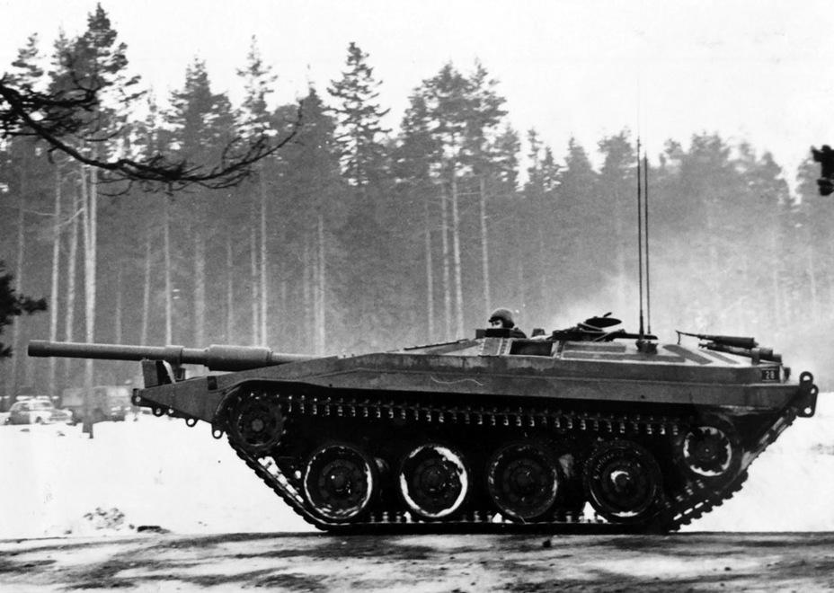 ?Первая машина нулевой серии - Удивительный танк Strv 103 | Военно-исторический портал Warspot.ru