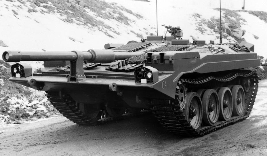 ?Strv 103A. Танки первой производственной серии не имели водоходного оборудования - Удивительный танк Strv 103 | Военно-исторический портал Warspot.ru