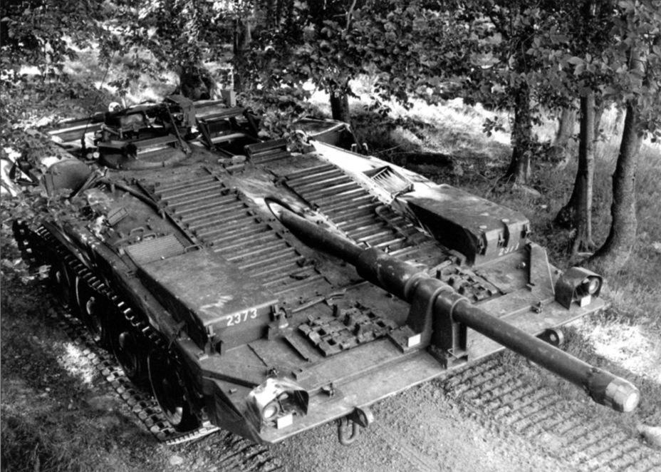 ?Strv 103B, основная версия этого танка - Удивительный танк Strv 103 | Военно-исторический портал Warspot.ru