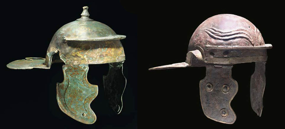 Римські шоломи I століття н.  е.  - Римське фехтування |  Військово-історичний портал Warspot.ru