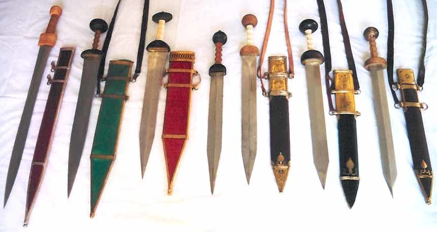 Римські мечі початку II століття до н.  е.  - Другої половини I століття н.  е.  - Римське фехтування |  Військово-історичний портал Warspot.ru