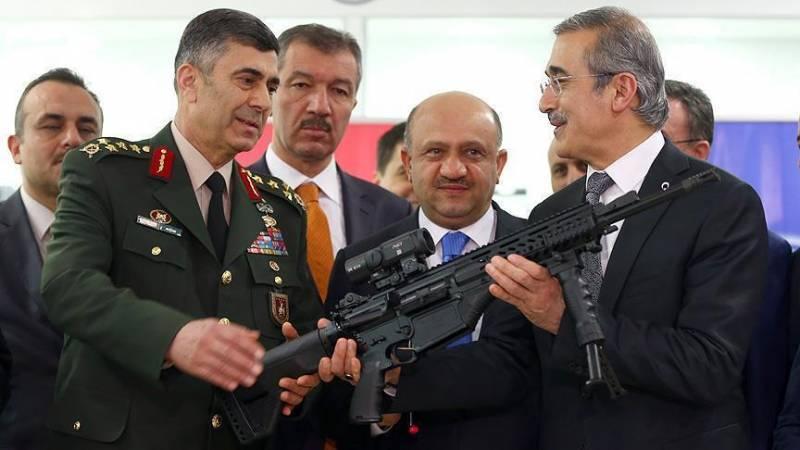 Винтовка MPT-76 dunya.com - Турецкая армия меняет винтовку | Военно-исторический портал Warspot.ru