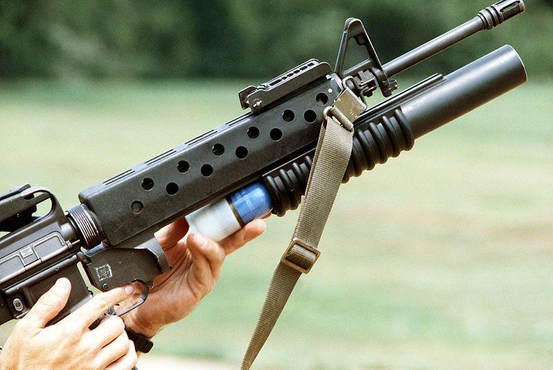 Гранатомет M203, установленный на винтовку M16 armyrecognition.com - Американская армия меняет «подствольники» | Военно-исторический портал Warspot.ru