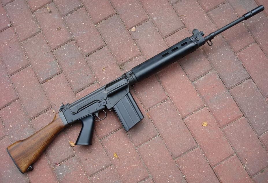 Бельгийская автоматическая винтовка FN FAL - «Правая рука свободного мира» | Военно-исторический портал Warspot.ru
