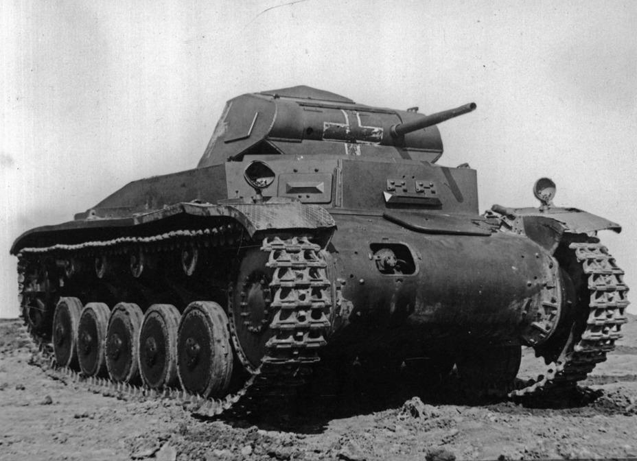 ?Таким Pz.Kpfw.II Ausf.C прибыл на полигон НИИБТ - Ариец польского отжима | Военно-исторический портал Warspot.ru