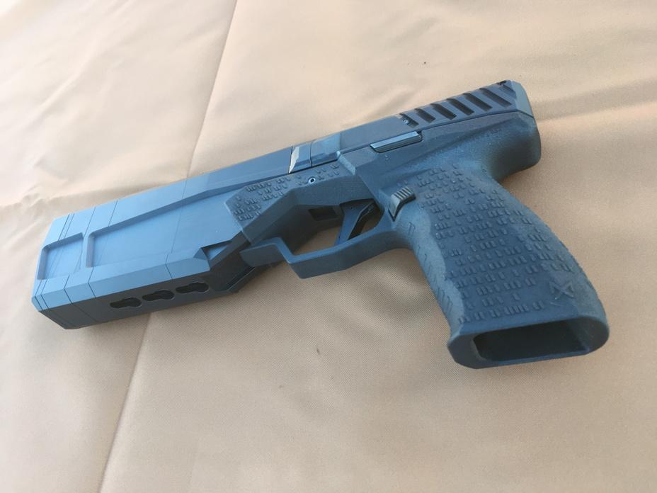 Серийная модель пистолета Maxim 9 thefirearmblog.com - Maxim 9: «глушитель со встроенным пистолетом» | Военно-исторический портал Warspot.ru