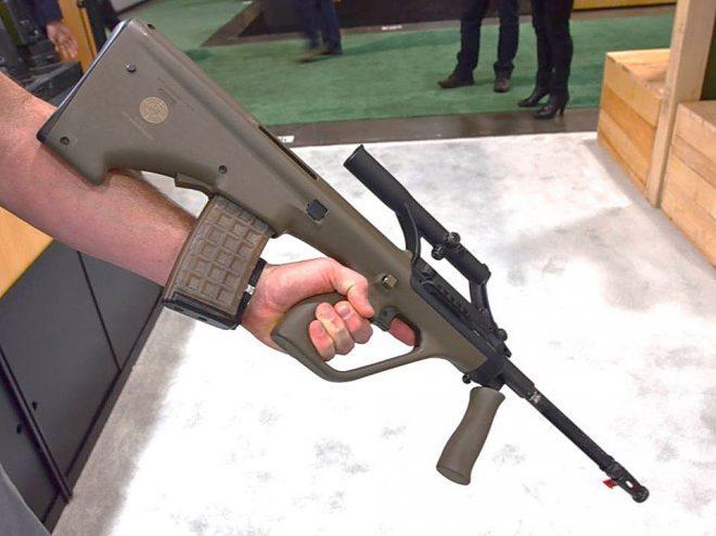 Юбилейная Steyr AUG. thefirearmblog.com - Sturmgewehr 77 возвращается | Военно-исторический портал Warspot.ru