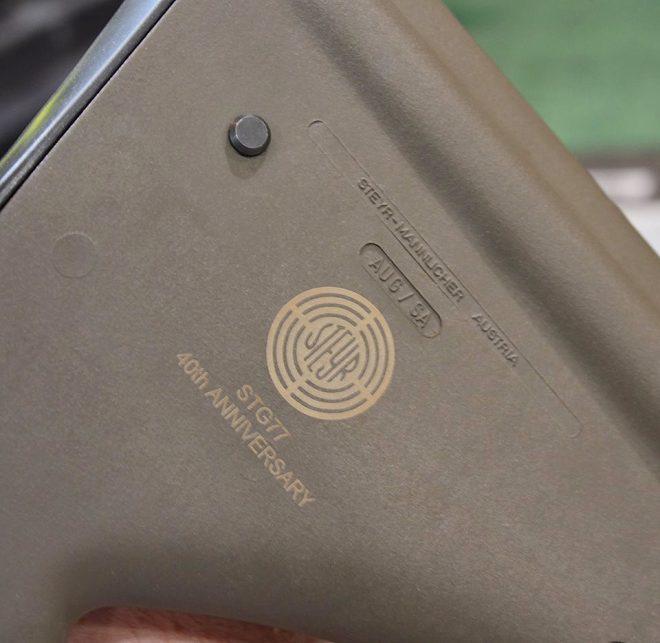Маркировка винтовки, свидетельствующая о её принадлежности к лимитированной серии. thefirearmblog.com - Sturmgewehr 77 возвращается | Военно-исторический портал Warspot.ru