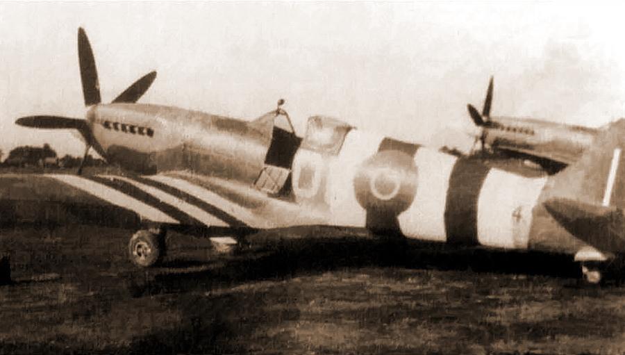 ?«Спитфайр» Mk.XIV из состава 91-й эскадрильи, на котором в начале июля 1944 года летал капитан Жан-Мари Маридор - Цвета военного неба: ловцы крылатых бомб | Военно-исторический портал Warspot.ru