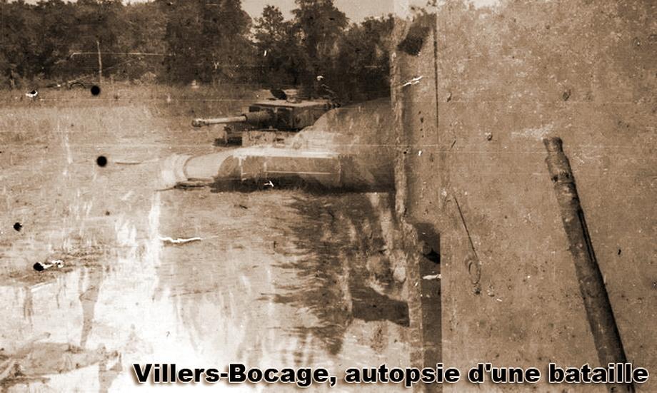 Это фото — результат накладки друг на друга двух снимков. Первый снимок — «Тигр» № 123, сфотографированный с крыши «Тигра» № 212. Второй снимок тоже сделан с крыши «Тигра» № 212, но больше с видом на его собственную башню и орудие. Хорошо видно лежащий на башне ствол пулемёта MG 34, планки для фиксации от раскручивания болтов на катках и ограничитель подъёма орудия, расположенный на его маске - «Двести двенадцатый» | Военно-исторический портал Warspot.ru